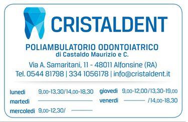 Cristaldent - Orari