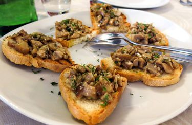 pian d'angelo - crostini