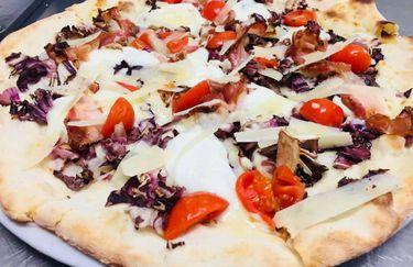 Pizzeria Ristorante Pata De Lobo - Pizza Radicchio