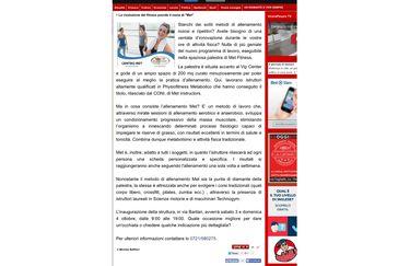 coupon Un mese di Fitness al Met Fitness SSD a Pesaro
