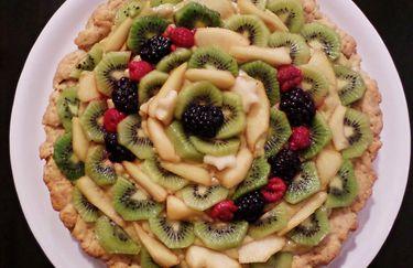 La Pida e Companatico - Crostata con crema e frutta