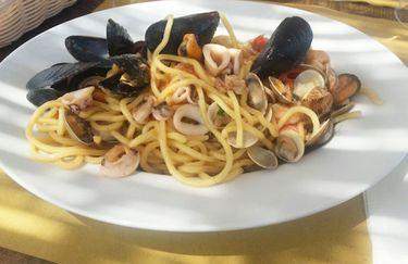 Kapogiro Beach - Spaghetti allo Scoglio2