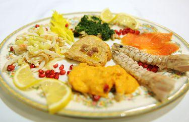 ristorante uldergo - antipasto pesce
