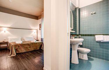 Hotel Cristallo bagno camera