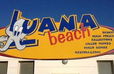 Bagno Luana Beach - insegna
