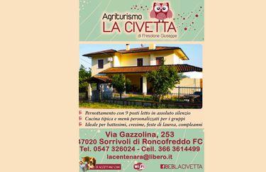 Agriturismo La Civetta - Locandina