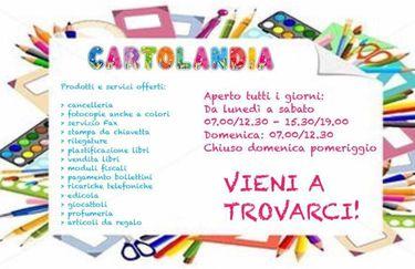 Cartolandia - Cartellone