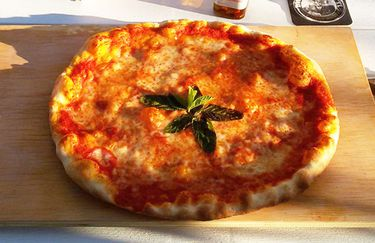 Osteria Pizzeria Acque Salate - Pizza Margerita