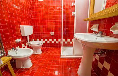hotel vezzena - bagno