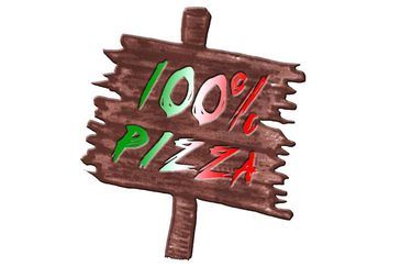 100% Pizza - Logo