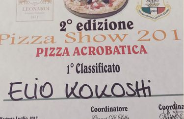 Coco Pizza - Attestato Pizza
