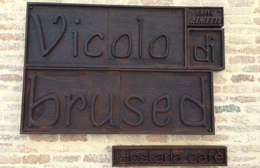 Vicolo di Brused-Insegna