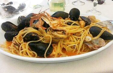 Capogiro- Spaghetti scoglio