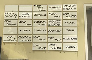 La Cremeria - gusti gelato