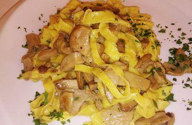 Osteria Pontenono - Tagliatelle ai Porcini