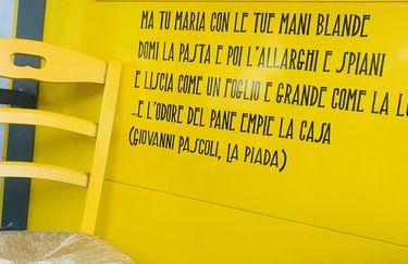 Piadineria CasaDei Romagnoli - La Piada, Giovanni Pascoli