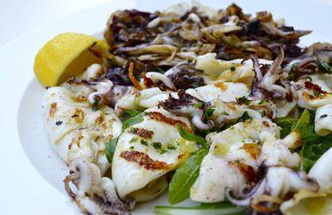 osteria marebianco - piatto pesce