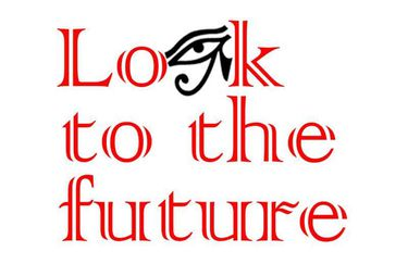 Look to the future - Logo