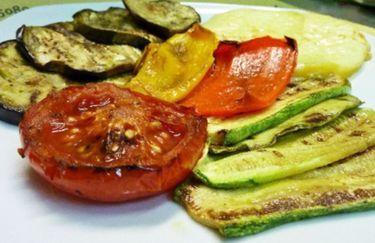 Osteria della Serafina - Verdure grigliate