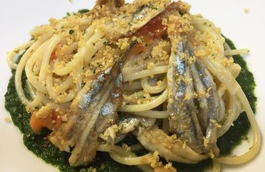 la nuova gradarina - spaghetti pesce