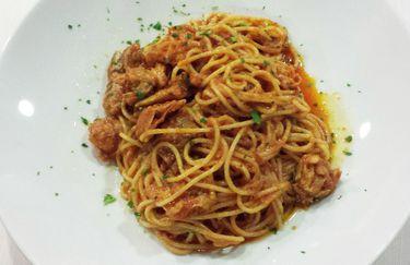 il giardino segreto - spaghetti canocchie