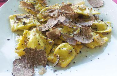 La Colombaia - Ravioli con tartufo