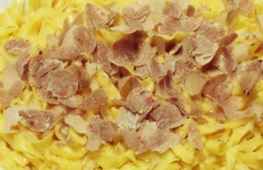 Osteria Brodo di Giuggiole - Tagliatelle al Tartufo