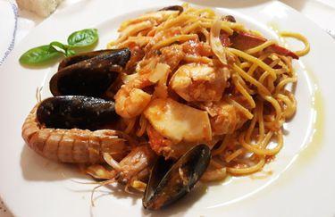 da flavio - spaghetti pesce