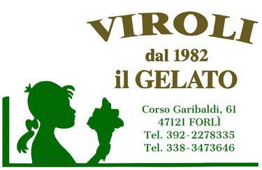 VIROLI dal 1982 IL GELATO - Logo