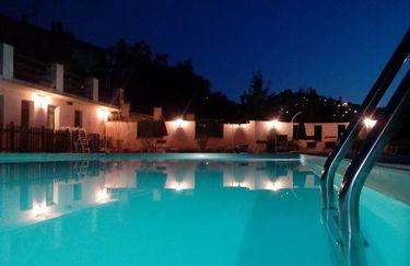 la quercia - piscina notte