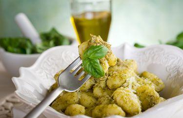 L'Osteria di Via Zannetti - Gnocchi al Pesto