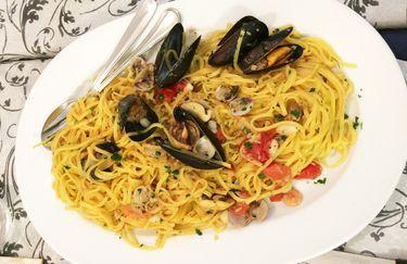 Ulivo - Spaghetti allo scoglio