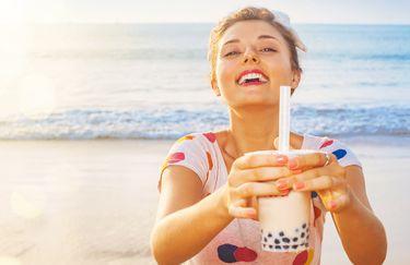 Tiki Beach Bar - Bubble Tea