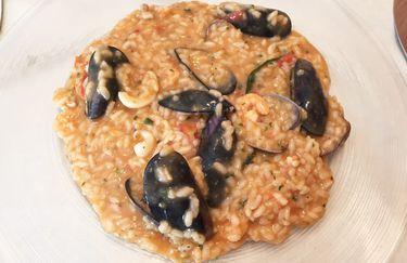 osteria del cammello - risotto