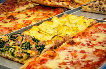 Pizzeria Lo Sfizio - Teglia di Pizza