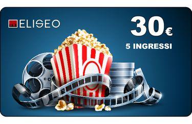 Cinema Eliseo - Abbonamento 5 Ingressi