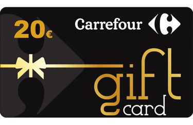 Carta Regalo carrefour