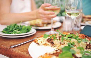 Osteria del Forno a Legna - Pizza coppia