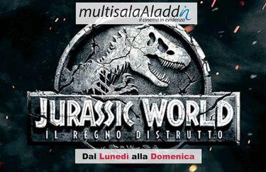 Cinema Aladdin - Jurassic World Locandina