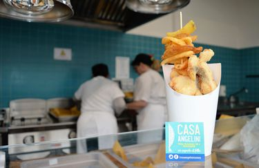 Casa Angelini - Fish and Chips