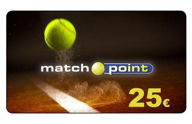 Match Point - card