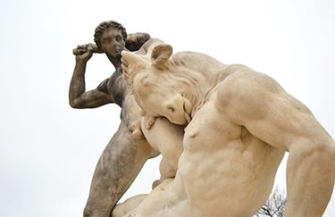 Labirinto di Dedalo - Statua