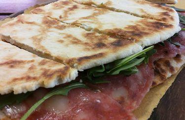 Stuzzicheria Romagnola - Piada Salame e Rucola