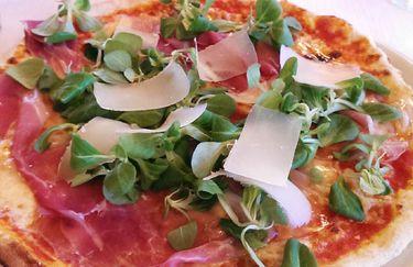 Ristorante Airone Bianco - Pizza Crudo