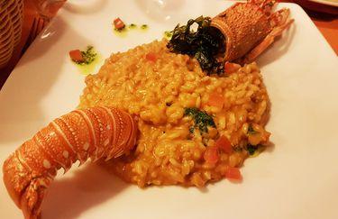 osteria piattoforte - risotto pesce
