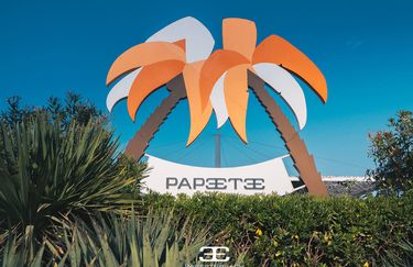 Papeete Beach - Entrata