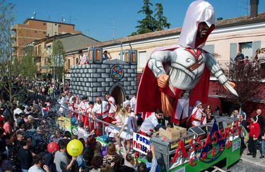 Carnevale di Gambettola - Carri
