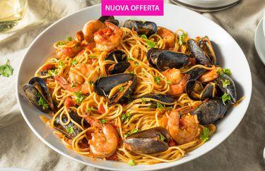Ristorante Casa Bianca - 1kg Spaghetti allo Scoglio
