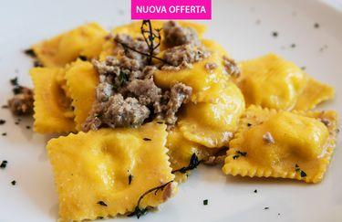Ristorante Pizzeria Ulivo - Ravioli Salsiccia