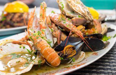 ristorante paradiso - piatto pesce
